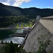 Kootenay River, Libby Dam, MT