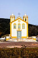 Igreja Nossa Senhora da Lapa, fundada em 1806 no Ribeirão da Ilha, ao anoitecer. Florianópolis, Santa Catarina, Brasil. / Nossa Senhora da Lapa Church, founded in 1806 at Ribeirao da Ilha district, at evening. Florianopolis, Santa Catarina, Brazil.