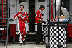 November 16, 2018 - Homestead, Florida, U.S. - Ryan Reed (16) hangs out in the garage during practice for the Ford 300 at Homestead-Miami Speedway in Homestead, Florida. (Credit Image: © Justin R. Noe Asp Inc/ASP)