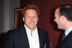 DAVID ROSS at the Krug Mindshare auction held at Sotheby's, New Bond Street, London on 1st November 2010.
