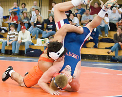 The University of Virginia Wrestling team defeated Liberty University 31-9 on November 10, 2006 at Memorial Gymnasium in Charlottesville, VA...