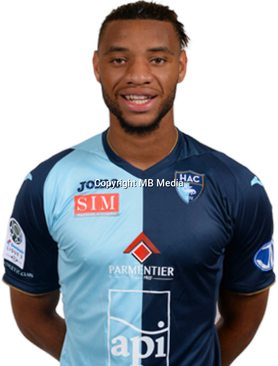 MOUKOUDI Harold during photocall of Le Havre AC for new season of Ligue 2 on September 29th 2016<br /> Photo : Lelaidier / Hac / Icon Sport