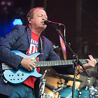 Level 42 in concert at Rewind Scotland, Scone Place, Perth, Scotland