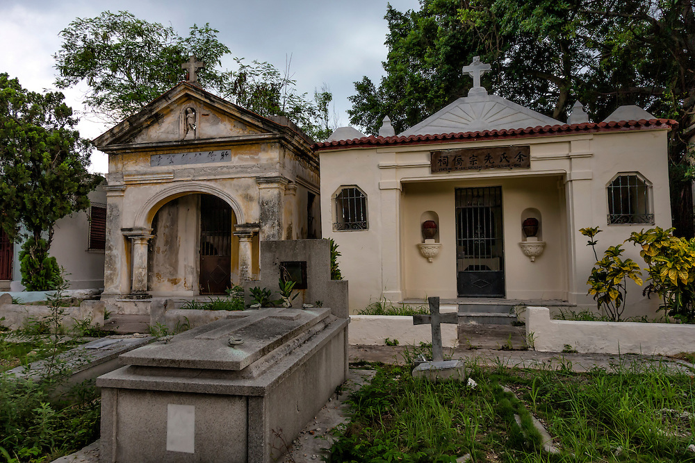 The Chinese cemetery in Havana, Cuba.