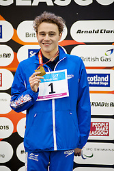 HYND Oliver GBR at 2015 IPC Swimming World Championships -  Men's 400m Freestyle S8