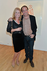 TOBY MOTT and CATHERINE DAVID at a party to celebrate the reopening of the Turps Art School held at Shapero Modern, 32 St.Georges Street, London on 14th October 2014.