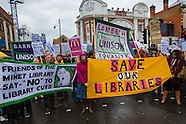 7 Nov 2015 - Lambeth residents protest against Library closures within the borough