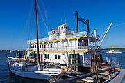 "Riverboat ""Cherry Blossom"", Alexandria,, Virginia, USA"