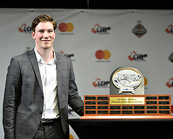Nolan Patrick of the Brandon Wheat Kings won the Sherwin-Williams Top Prospect Award.  Photo by Aaron Bell/CHL Images