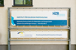 Silicon Photovoltaic centre at Helmholtz Centre  at Adlershof Science and Technology Park  Park in Berlin, Germany