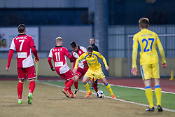 Agim Ibraimi of NK Domzale during football match between NK Domzale and NK Aluminij in Round #24 of Prva liga Telekom Slovenije 2017/18, on March 18, 2018 in Sports park Domzale, Domzale, Slovenia. Photo by Urban Urbanc / Sportida