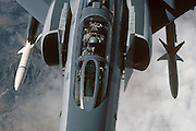 F-4G Phantom Wild Weasel with HARMs