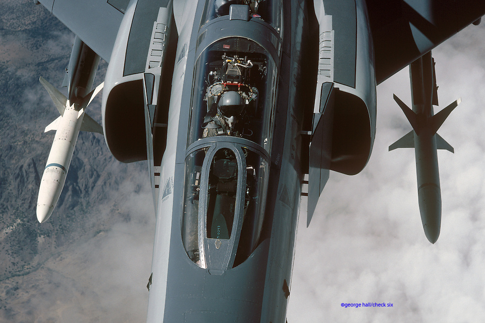 F-4G Phantom Wild Weasel with HARMs