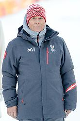 13.02.2018, Jeongseon Alpine Centre, Pyeongchang, KOR, PyeongChang 2018, Ski Alpin, Herren, Kombination, Siegerpräsentation, im Bild Prof. Peter Schröcksnadel (ÖSV Präsident) // Peter Schroecksnadel Austrian Ski Association President during the winner's presentation of Men's Alpine Combined of the Pyeongchang 2018 Winter Olympic Games at the Jeongseon Alpine Centre in Pyeongchang, South Korea on 2018/02/13. EXPA Pictures © 2018, PhotoCredit: EXPA/ Johann Groder