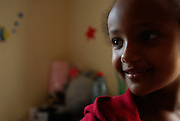Betty on her last day at 'Save A Child's Heart' House in Azor, before her flight back home, after a journey of 15 weeks.
