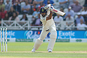 Virat Kohli of India during the 3rd International Test Match 2018 match between England and India at Trent Bridge, West Bridgford, United Kingdon on 18 August 2018.