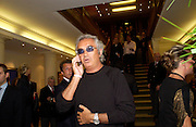 Flavio Briatore. 4 Inches, A  Photographic Auction in aid of the Elton John Aids Foundation hosted by Tamara Mellon and Arnaud Bamberger. Christie's. 8 King St. London. 25 May 2005. ONE TIME USE ONLY - DO NOT ARCHIVE  © Copyright Photograph by Dafydd Jones 66 Stockwell Park Rd. London SW9 0DA Tel 020 7733 0108 www.dafjones.com