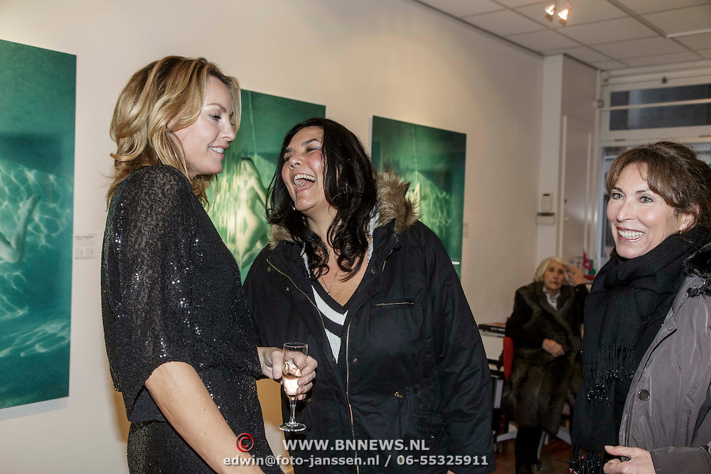 """NLD/Amsterdam/20150110 - Expositie opening Micky Hoogendijk """"The Other Side of Fear is Freedom"""", Micky"""
