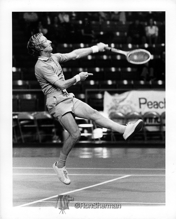 The 1973 World Championship Tennis circuit was one of the two rival professional male tennis circuits of 1973. It was organized by World Championship Tennis (WCT). The WCT circuit divided the players into two groups of 32 players, with each group playing 11 tournaments of the 22 tournaments. <br /> <br /> Rodney George &quot;Rod&quot; Laver MBE, born 9 August 1938 in Rockhampton, Queensland, is an Australian former professional tennis player who holds the record for most singles titles won in the history of tennis, with 200 career titles. He was ranked World No. 1 for seven consecutive years, from 1964 to 1970.  He holds the all-time male records of 22 singles titles in a season (1962) and 7 consecutive years (1964&ndash;70) winning at least 10 singles titles per season. In addition to this he won 9 Championship Series titles (1970&ndash;75).  Laver is widely regarded as one of the greatest tennis players of all time.