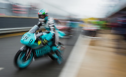 October 21, 2016 - Melbourne, Victoria, Australia - Italian rider Andrea Locatelli (#55) of Leopard Racing leaves his garage during the 1st Moto3 Free Practice session at the 2016 Australian MotoGP held at Phillip Island, Australia. (Credit Image: © Theo Karanikos via ZUMA Wire)