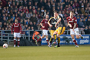 Cambridge United Defender Josh Coulson  during the Sky Bet League 2 match between Northampton Town and Cambridge United at Sixfields Stadium, Northampton, England on 12 March 2016. Photo by Dennis Goodwin.
