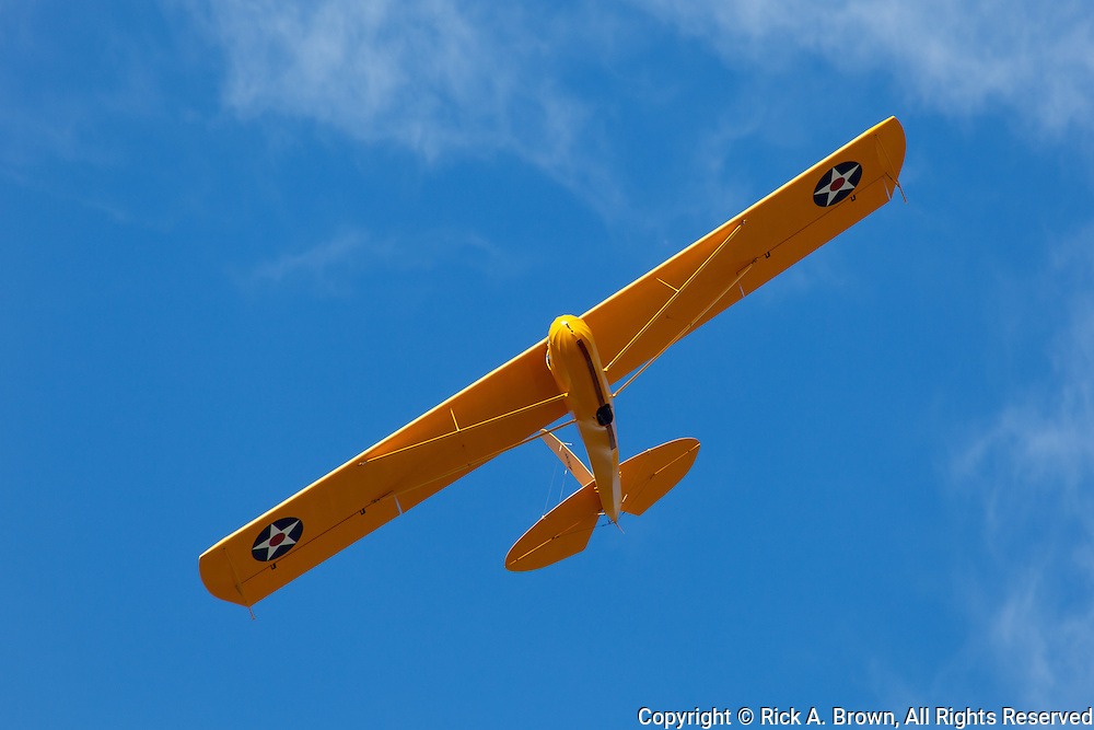 1935 Franklin Glider PS-2 flying at WAAAM.