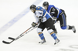 Game action from Tuesday's round robin game between the Saint John Sea Dogs and Kootenay Ice at the 2011 MasterCard Memorial Cup in Mississauga, ON. Photo by Aaron Bell/CHL Images
