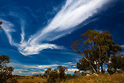Cloud formations over Jindabyne, New South Wales