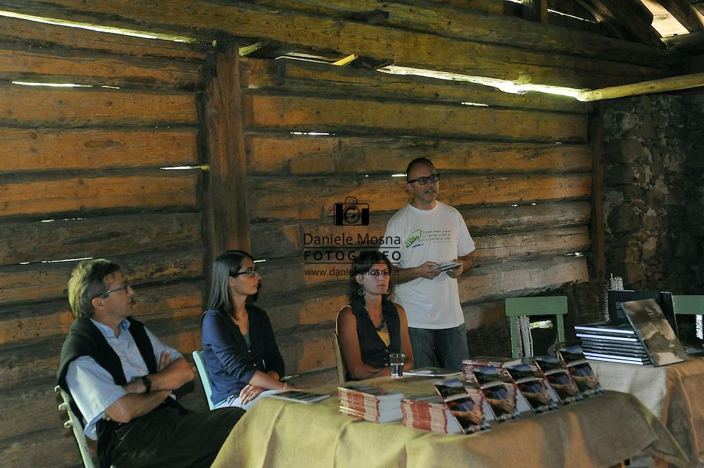 PROGETTO VISIONI H2O LA PRIMA NOTTE BIANCA NELLA VALLE DEI MOCHENI 25-06-2011 © FOTO DANIELE MOSNA