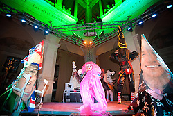 Dissonanze 10 Electronic Music festival in Rome - Chiostro del Bramante Assume Vivid Astro Focus & La Chatte