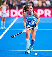 Londen - Agustina Habif (Arg)   tijdens de cross over wedstrijd Argentinie-Nieuw Zeeland (2-0)  bij het WK Hockey 2018 in Londen .  COPYRIGHT KOEN SUYK