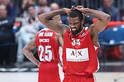 Delusione Jefferson Cory, Ax Armani Exchange Olimpia Milano vs Baskonia Vitoria Gasteiz - EuroLeague 2017/2018, Milano Mediolanum Forum 20 dicembre 2017 - foto BERTANI/Ciamillo-Castoria