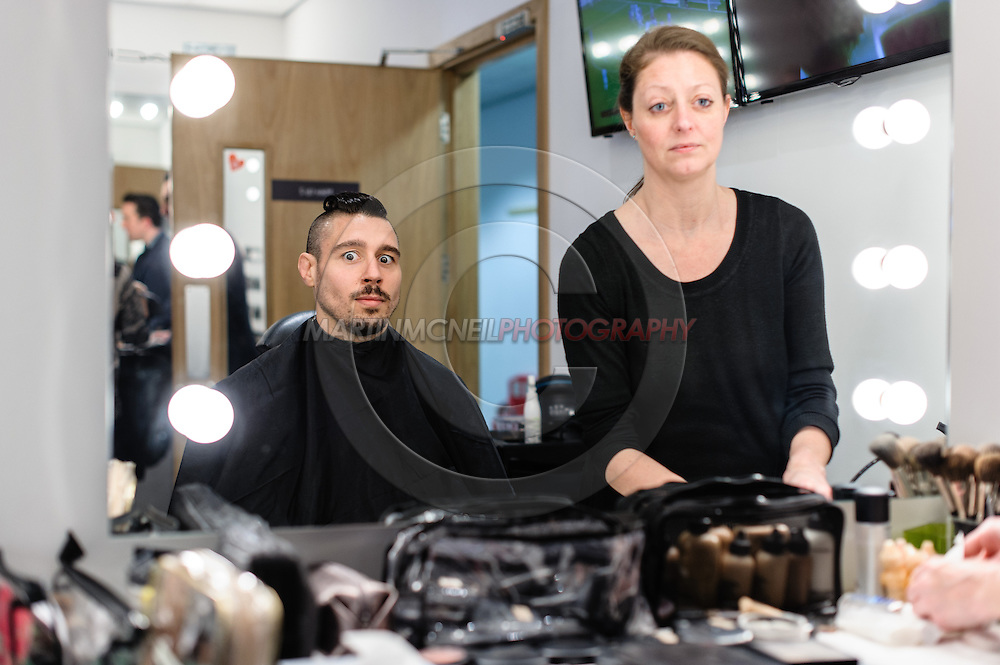 "LONDON, ENGLAND, March 4, 2014: Dan Hardy is pictured ahead of the broadcast of BT Sport's ""Beyond the Octagon"" programme on Tuesday, March 4, 2014 © Martin McNeil for IPC Media"