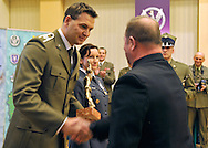 SERGEANT SEBASTIAN CHMARA (DECATHLON) DURING MILITARY SPORT'S GALA 2009 IN THE POLISH ARMY GENERAL STAFF IN WARSAW, POLAND..WARSAW , POLAND , MARCH 31, 2010..( PHOTO BY ADAM NURKIEWICZ / MEDIASPORT )..PICTURE ALSO AVAIBLE IN RAW OR TIFF FORMAT ON SPECIAL REQUEST.