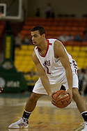 November 29th, 2008:  Anchorage, Alaska - Seattle University forward Aaron Broussard (2) in the third place game on the final day of the Great Alaska Shootout.