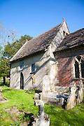 Saxon church of St Mary the Virgin, Alton Barnes, Wiltshire, England