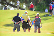 The gallery during the final round of LPGA Q-School Stage 3 on the Hills Course at LPGA International in Daytona Beach, Florida on Dec. 4, 2016.<br /> <br /> <br /> ©2016 Scott A. Miller