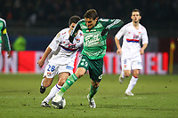 FOOTBALL - FRENCH CHAMPIONSHIP 2009/2010 - L1 - OLYMPIQUE LYONNAIS v ST ETIENNE - 13/03/2010 - PHOTO ERIC BRETAGNON / DPPI - <br /> GONZALO BERGESSIO (ASSE)