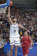 Olimpiadi Sydney 2000<br /> Italia - Cina<br /> Nella foto: Andrea Meneghin<br /> Foto Ciamillo