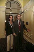 NANCY SLADEK AND ALEXANDER WAUGH, Literary Review's Bad Sex In Fiction Prize.  In & Out Club (The Naval & Military Club), 4 St James's Square, London, SW1, 29 November 2006. <br />