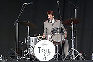 Ringo (aka Pat Kierstead) and Ticket to Ride  perfom at the Fraze Pavilion, Tuesday, August 11, 2009.