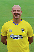 AFC Wimbledon assistant coach Neil Cox at AFC Wimbledon Team Photo 02AUG16 at the Cherry Red Records Stadium, Kingston, England on 2 August 2016. Photo by Stuart Butcher.