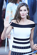 090717 Queen Letizia attends World Congress on Medical Oncology 'ESMO 2017 Congress'