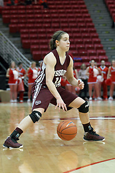 03 March 2013:  Karly Buer during an NCAA Missouri Valley Conference (MVC) women's basketball game between the Missouri State Bears and the Illinois Sate Redbirds at Redbird Arena in Normal IL