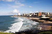 barra beach in the beautiful city of salvador in bahia state brazil