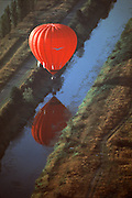 Balloon splash and go in Sammamish Slough