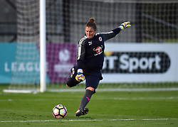 Mary Earps of Reading Women - Mandatory by-line: Paul Knight/JMP - 28/10/2017 - FOOTBALL - Stoke Gifford Stadium - Bristol, England - Bristol City Women v Reading Women - FA Women's Super League