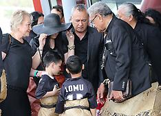 Auckland - `Aho Faka Famili for Jonah Lomu