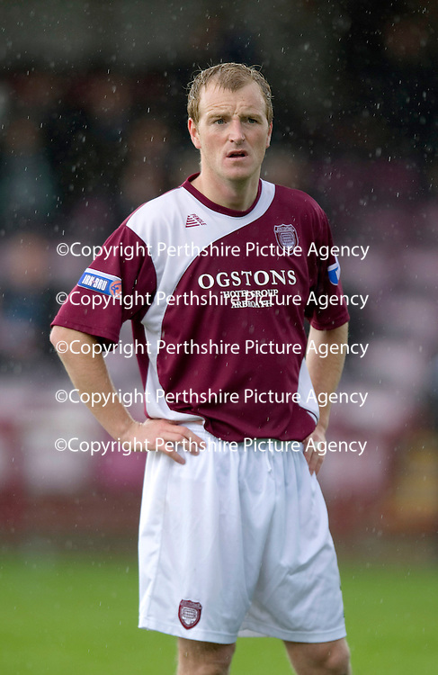 Arbroath FC Season 2011-12<br /> Brian Kerr<br /> Picture by Graeme Hart.<br /> Copyright Perthshire Picture Agency<br /> Tel: 01738 623350  Mobile: 07990 594431