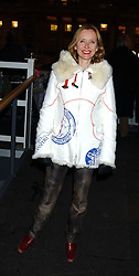 TV presenter ROSIE MILLARD at a party to celebrate the opening of the annual Somerset House Ice Rink at Somerset House, London on 23rd November 2005.<br /><br />NON EXCLUSIVE - WORLD RIGHTS